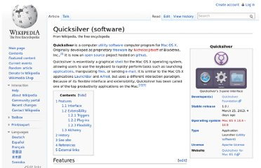 http://en.wikipedia.org/wiki/Quicksilver_(software)