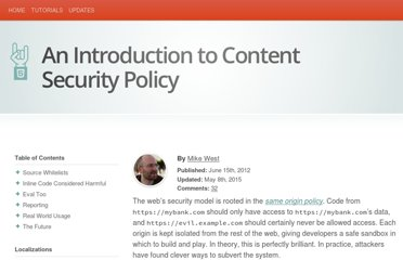 http://www.html5rocks.com/en/tutorials/security/content-security-policy/