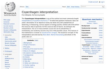 http://en.wikipedia.org/wiki/Copenhagen_interpretation