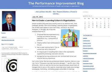 http://stephenjgill.typepad.com/performance_improvement_b/2012/07/how-to-create-a-learning-culture-in-organizations.html