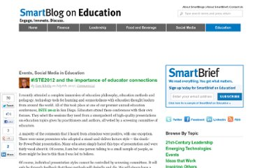 http://smartblogs.com/education/2012/07/06/iste2012-importance-educator-connections/