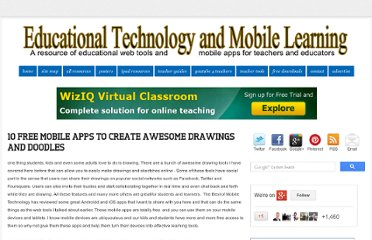 http://www.educatorstechnology.com/2012/03/10-free-mobile-apps-to-create-awesome.html
