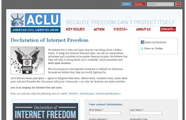 https://www.aclu.org/secure/declaration-internet-freedom