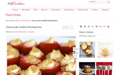 http://www.pincookie.com/cheesecake-stuffed-strawberries/