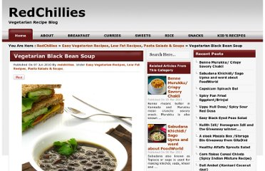 http://redchillies.us/2010/06/07/vegetarian-black-bean-soup/