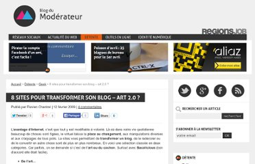 http://www.blogdumoderateur.com/8-sites-pour-transformer-son-blog-art-2-0/