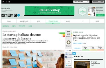 http://italianvalley.wired.it/news/2012/07/06/startup-italia-israele-maital-36524.html