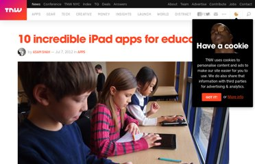 http://thenextweb.com/apps/2012/07/07/10-incredible-ipad-apps-for-education/