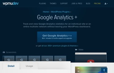 http://premium.wpmudev.org/project/google-analytics-for-wordpress-mu-sitewide-and-single-blog-solution/