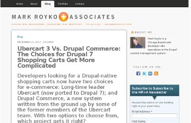 http://www.markroyko.com/blog/2011/12/14/ubercart-3-vs-drupal-commerce