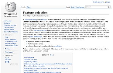 http://en.wikipedia.org/wiki/Feature_selection