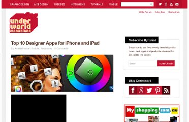 http://www.underworldmagazines.com/top-10-designer-apps-for-iphone-and-ipad/