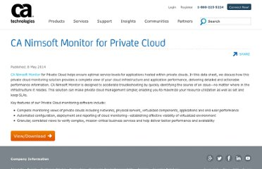 http://www.nimsoft.com/solutions/nimsoft-monitor/cloud/private-cloud.html