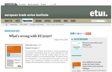 http://www.etui.org/Publications2/Policy-Briefs/European-Social-Policy/What-s-wrong-with-EU2020