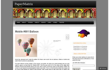 http://papermatrix.wordpress.com/2012/02/25/mobile-001-balloon/
