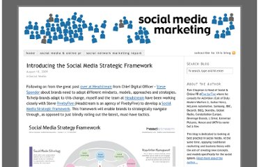 http://www.socialmediamarketinguk.com/introducing-the-social-media-strategic-framework