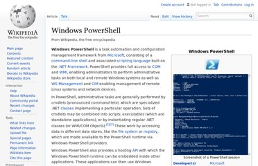 http://en.wikipedia.org/wiki/Windows_PowerShell