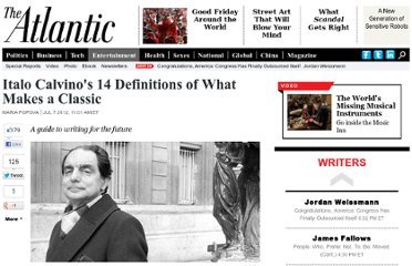 http://www.theatlantic.com/entertainment/archive/2012/07/italo-calvinos-14-definitions-of-what-makes-a-classic/259529/