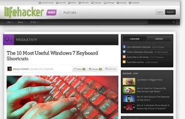 http://www.lifehacker.com.au/2012/06/the-10-most-useful-windows-7-keyboard-shortcuts/