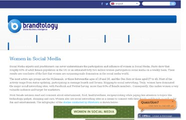 http://www.brandtology.com/blog/women-in-social-media