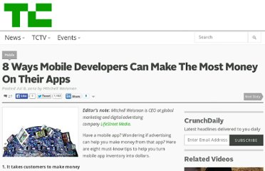 http://techcrunch.com/2012/07/08/8-ways-mobile-developers-can-make-the-most-money-on-their-apps/