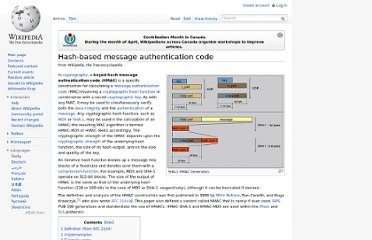 http://en.wikipedia.org/wiki/Hash-based_message_authentication_code