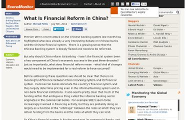 http://www.economonitor.com/blog/2012/07/what-is-financial-reform-in-china/
