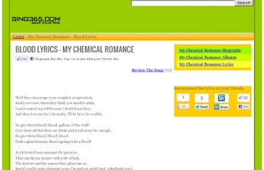 http://www.sing365.com/music/lyric.nsf/Blood-lyrics-My-Chemical-Romance/15F55EDFF0633DDE4825720E0011B6C8