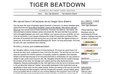 http://tigerbeatdown.com/2012/06/27/we-cannot-have-it-all-because-we-no-longer-have-dreams/