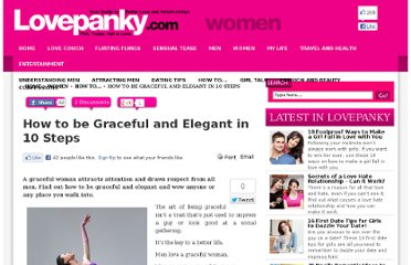 http://www.lovepanky.com/women/how-to-tips-and-guide-for-women/how-to-be-graceful-and-elegant