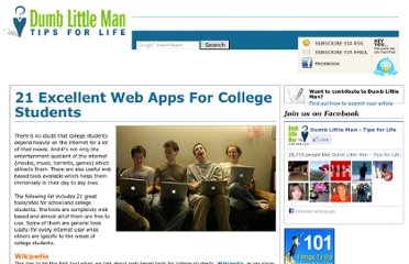 http://www.dumblittleman.com/2008/12/21-excellent-web-apps-for-college.html
