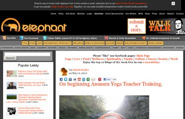 http://www.elephantjournal.com/2010/05/a-journey-begins-anusara-yoga-teacher-training/