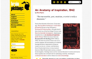 http://www.brainpickings.org/index.php/2012/07/09/an-anatomy-of-inspiration-rosamond-harding/