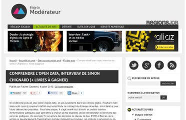 http://www.blogdumoderateur.com/comprendre-lopen-data-interview-de-simon-chignard-livres-gagner/