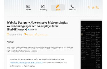 http://benfrain.com/how-to-serve-high-resolution-website-images-for-retina-displays-new-ipadiphone4/