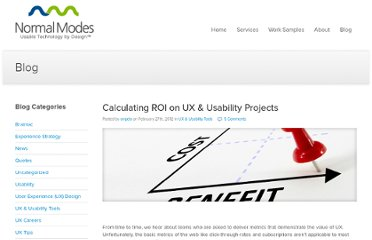 http://www.normalmodes.com/blog/2012/02/27/calculating-roi-on-ux-usability-projects/