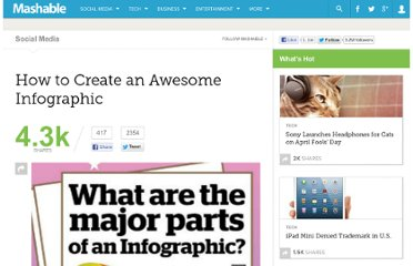 http://mashable.com/2012/07/09/how-to-create-an-infographic/