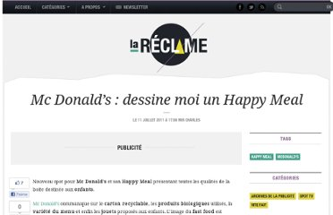http://lareclame.fr/mcdonalds+happy+meal+dessiner