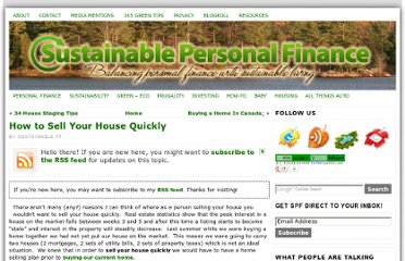 http://sustainablepersonalfinance.com/how-to-sell-your-house-quickly/