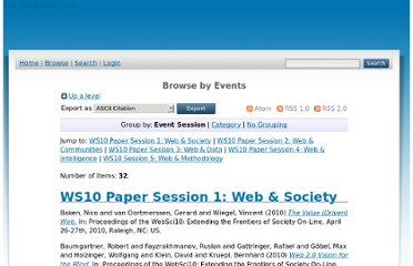 http://journal.webscience.org/view/events/WebSci10=3A_Extending_the_Frontiers_of_Society_On-Line/paper.html