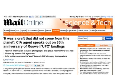 http://www.dailymail.co.uk/sciencetech/article-2170831/Roswell-UFO-landing-CIA-agent-Chase-Brandon-speaks-65th-anniversary.html#ixzz2086391XQ