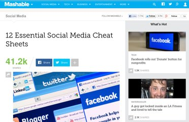 http://mashable.com/2012/07/09/social-media-cheatsheets/