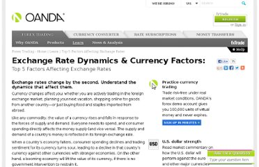 http://fxtrade.oanda.com/learn/top-5-factors-that-affect-exchange-rates
