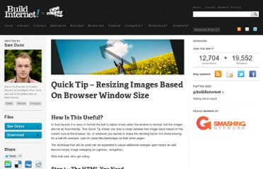 http://buildinternet.com/2009/07/quick-tip-resizing-images-based-on-browser-window-size/