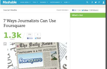 http://mashable.com/2010/05/14/journalists-foursquare/