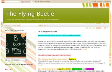 http://theflyingbeetle.blogspot.com/p/teaching-resources.html