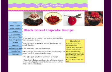 http://www.cupcake-creations.com/black-forest-cupcake-recipe.html