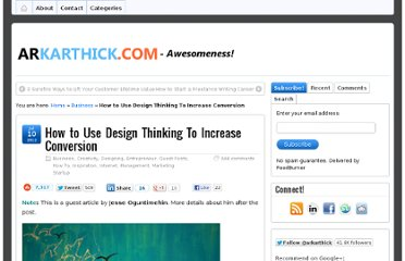 http://arkarthick.com/2012/07/10/design-thinking-conversion-optimization/