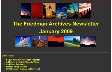 http://friedmanarchives.com/newsletters/newsletter-09-01/