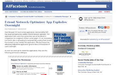 http://allfacebook.com/friend-network-optimizer-explodes-through-aggressive-permissions_b15059